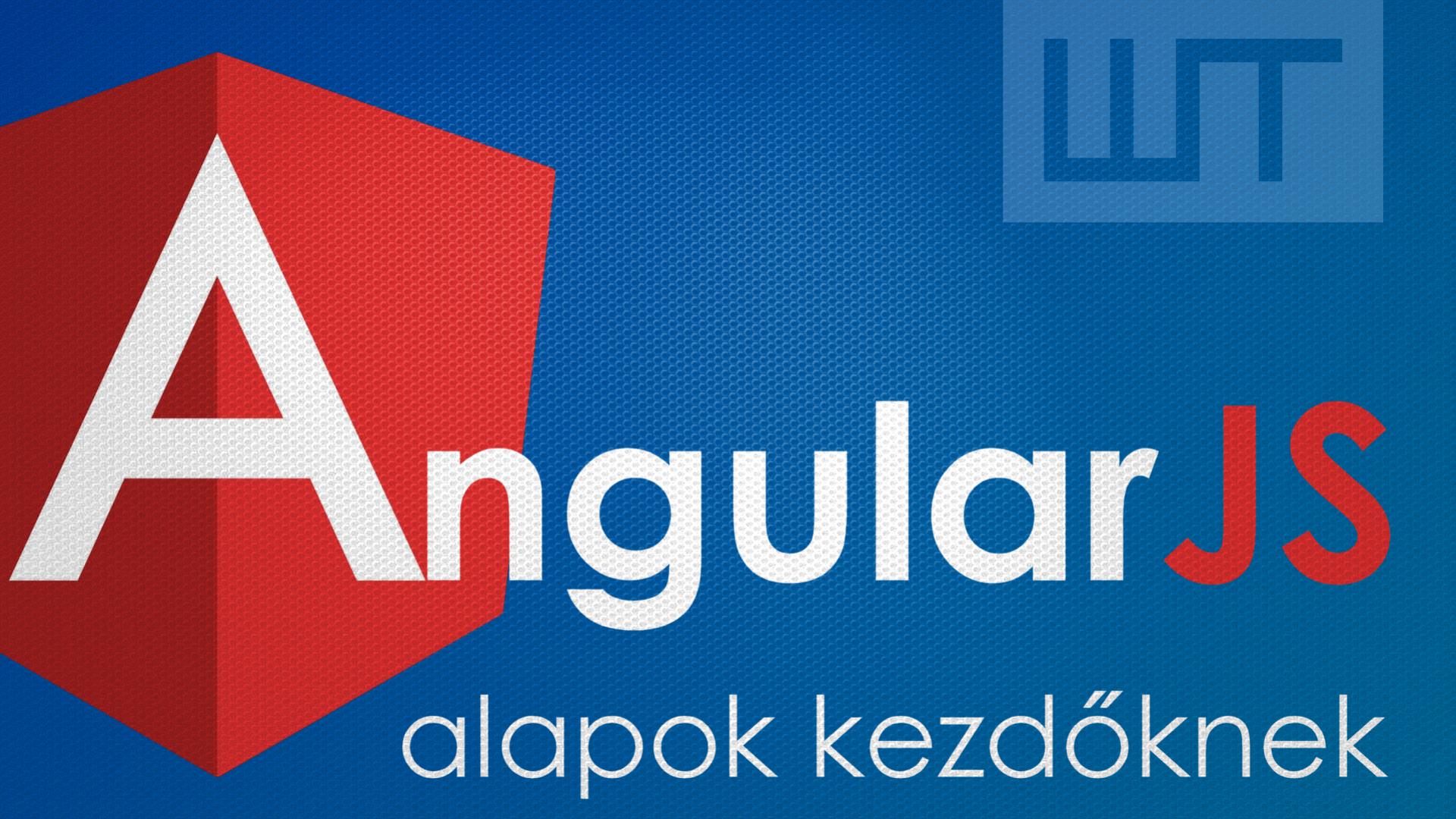 AngularJS alapok kezdőknek