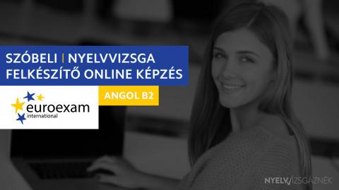 Angol B2 Euroexam SZÓBELI nyelvvizsga felkészítő